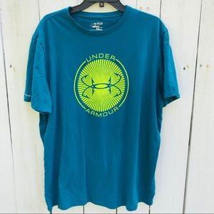 Men's XL Under Armour Teal Shirt